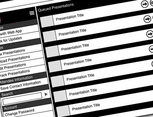 Crunched iPad App Wireframes